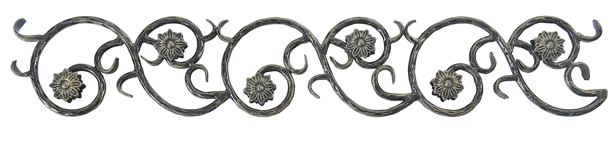 Kovářský ornament H 970 x L 170 mm,12 mm
