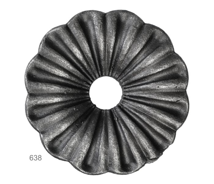 Květ ø 92mm, hr. 3 mm, 160g